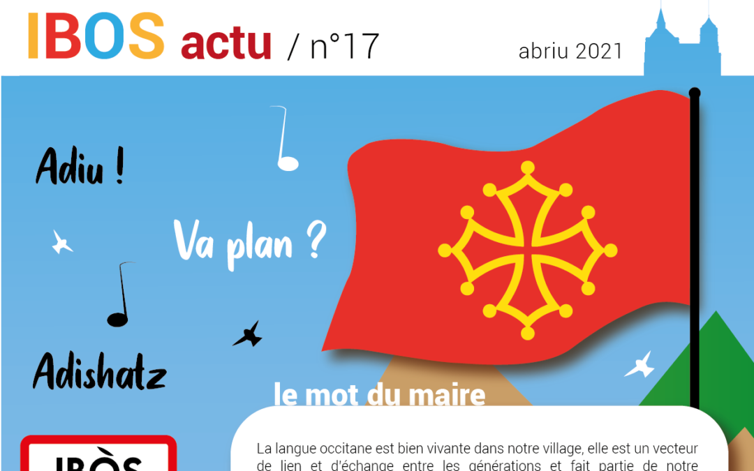 IBOS ACTU n°17 – Avril 2021